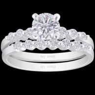 莫琳鑽石戒指